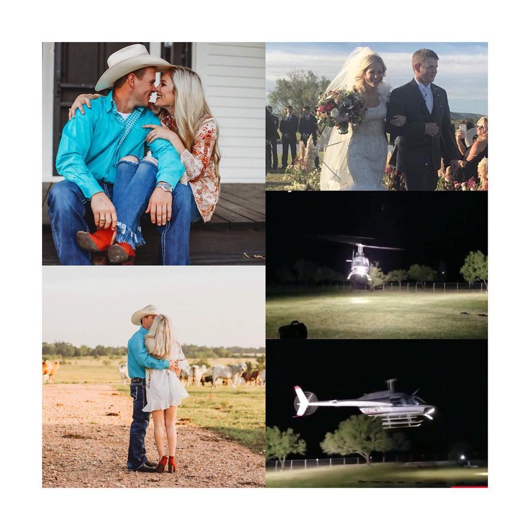 Wedding Helicopter Crash.Painful Newly Married Couple Die In Helicopter Crash While Leaving