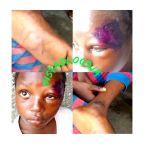Man brutalises his daughter over school uniform .